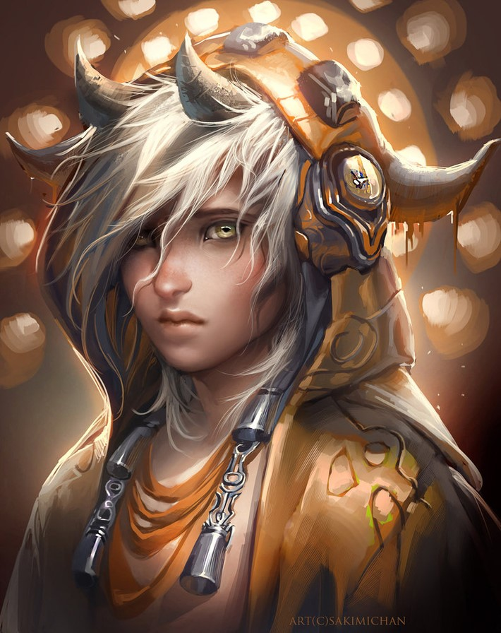 Amazing Digital Art Characters 12 Amazing Digital Art Characters by Sakimi Chan