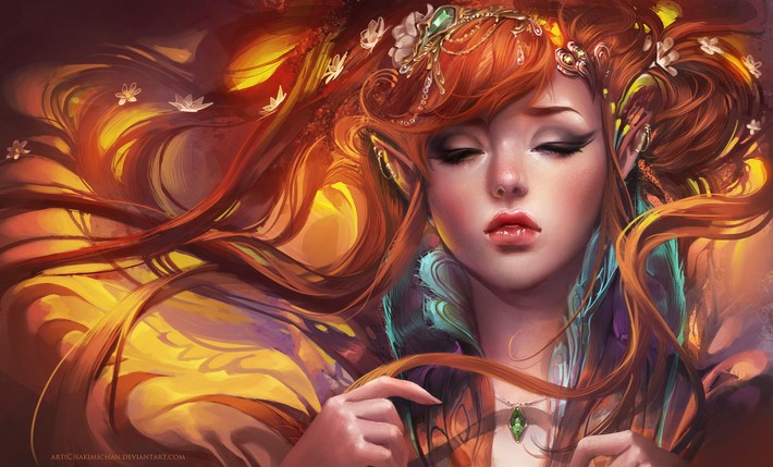 Amazing Digital Art Characters 13 Amazing Digital Art Characters by Sakimi Chan