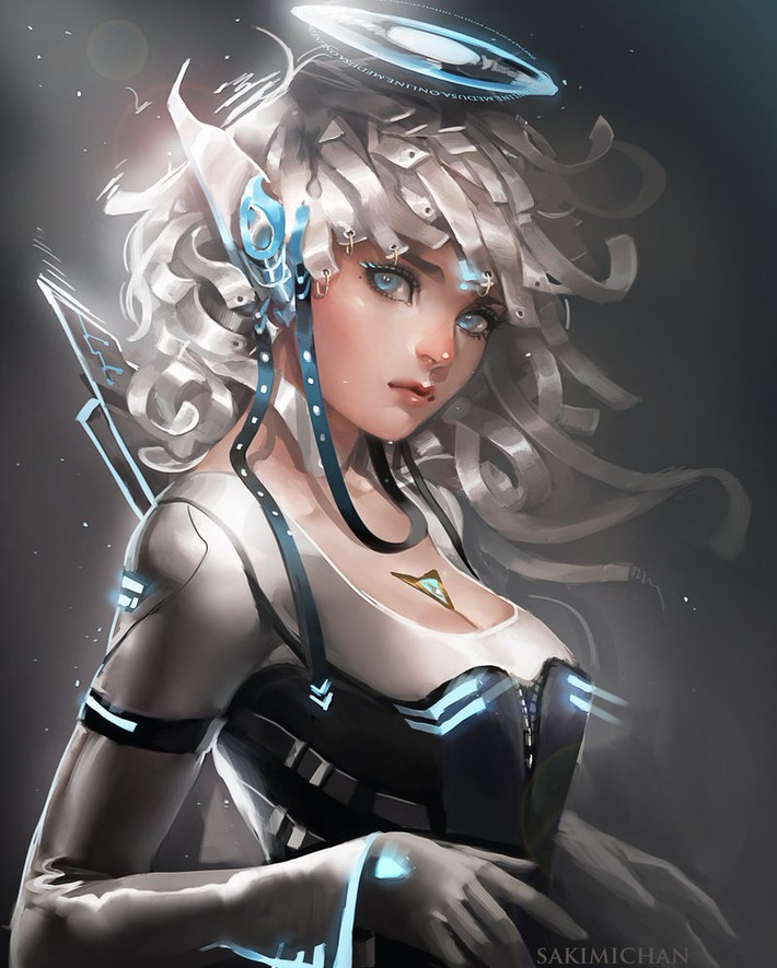 Amazing Digital Art Characters 17 Amazing Digital Art Characters by Sakimi Chan