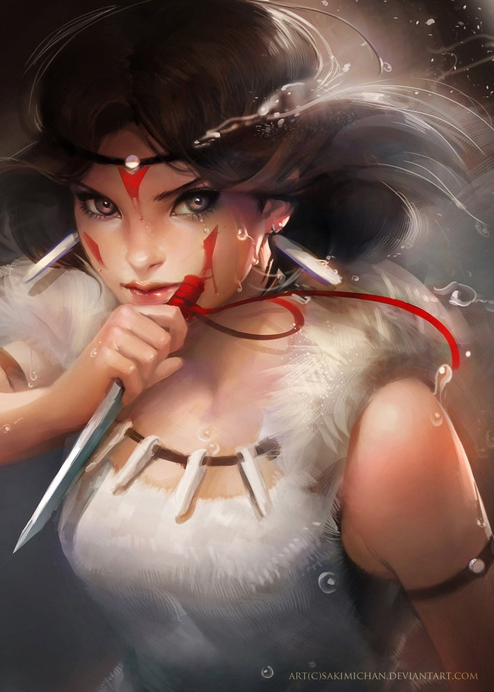 Amazing Digital Art Characters 25 Amazing Digital Art Characters by Sakimi Chan