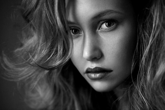 Fine Art Black And White Portrait Photography