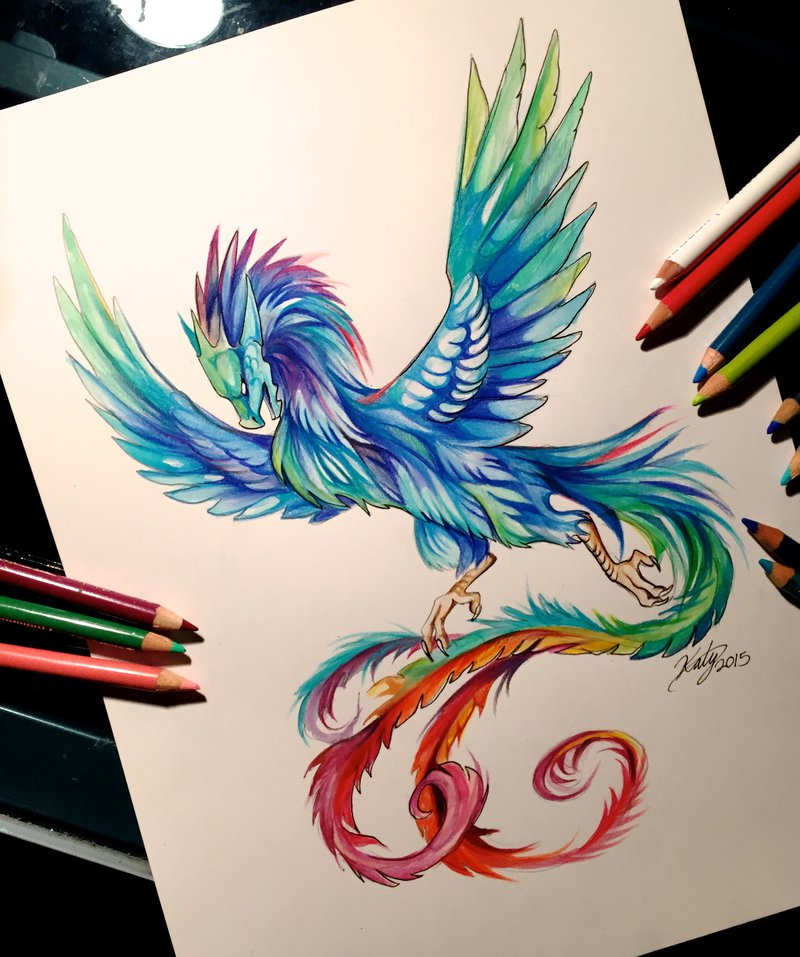Colored Pencil drawing Art By Katy Lipscomb | 99inspiration