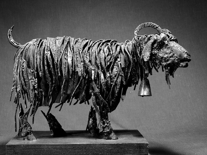 Wonderful art Sculptures 9 Wonderful Art Sculptures Made of Scrap Metal
