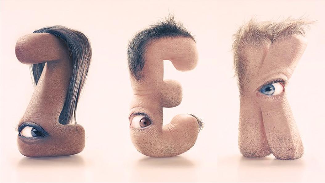 alphabet typography design 10