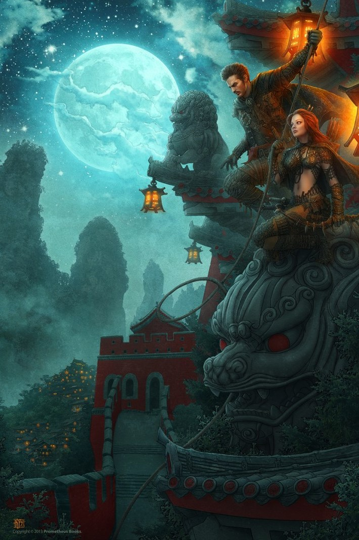 art illustrations character 26 CG Art Illustrations Characters By Kerem Beyit