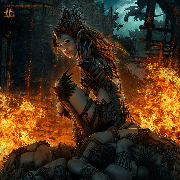 art illustrations character 31 CG Art Illustrations Characters By Kerem Beyit