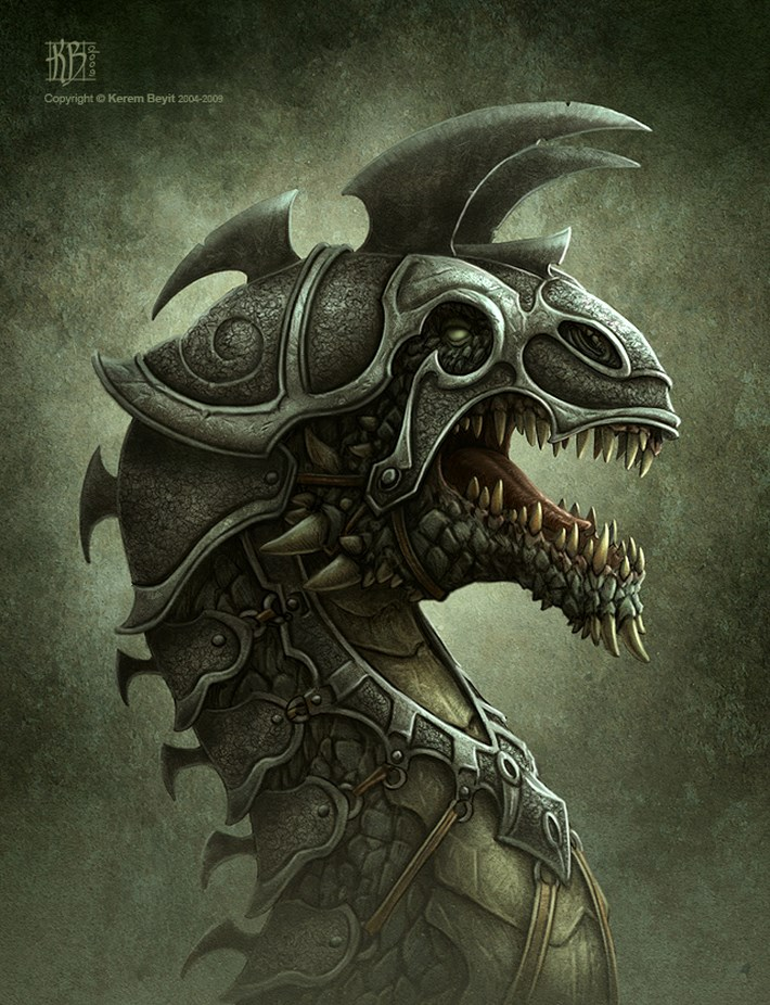 art illustrations character 37 CG Art Illustrations Characters By Kerem Beyit