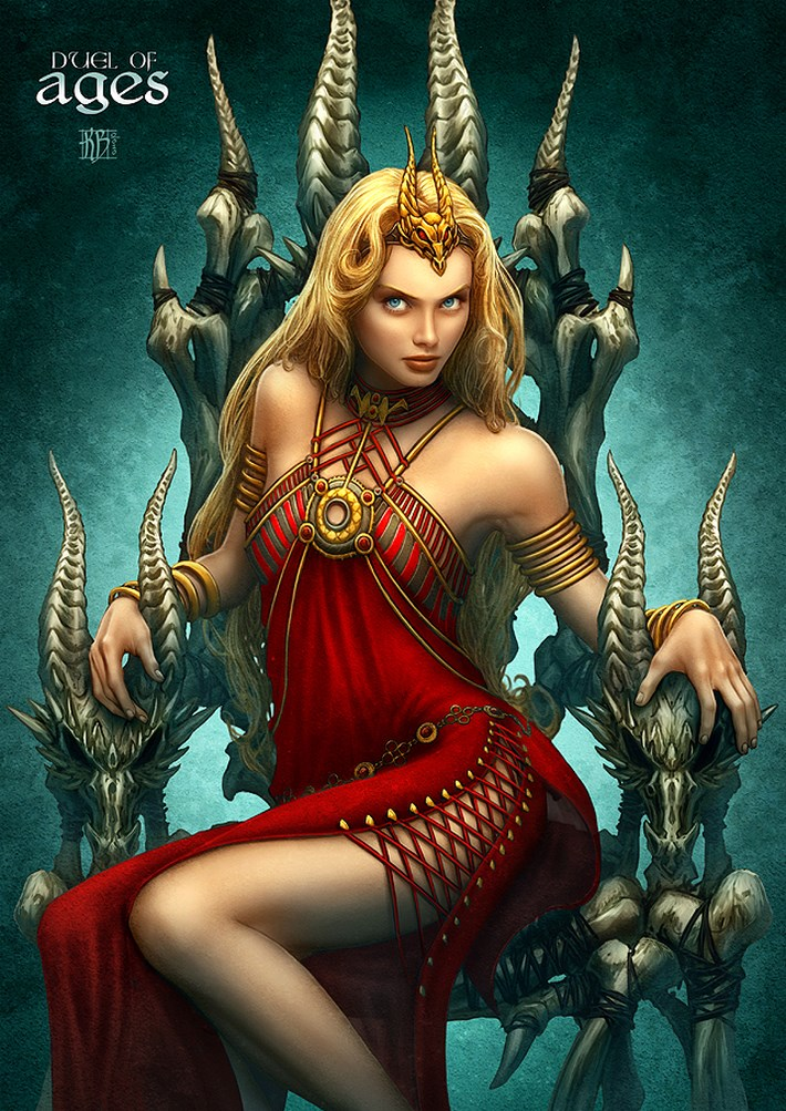 art illustrations character 5 CG Art Illustrations Characters By Kerem Beyit