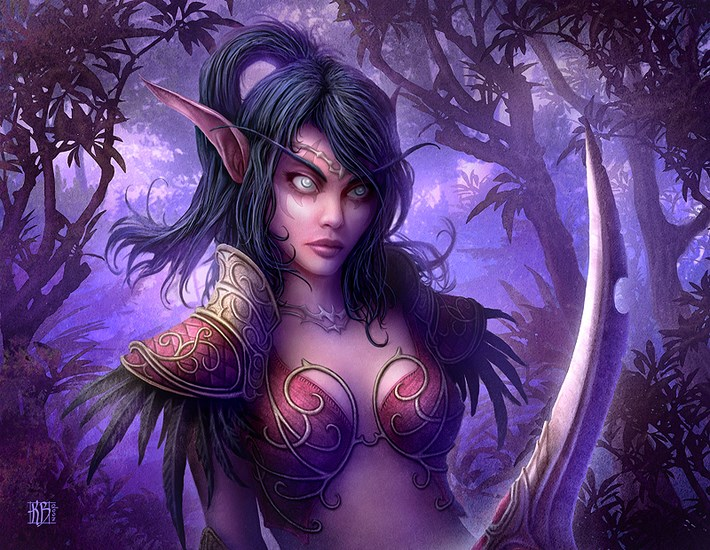 art illustrations character 6 CG Art Illustrations Characters By Kerem Beyit