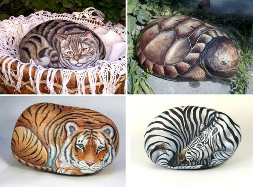 art painting stone 12 How to create stone art painting