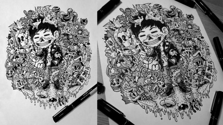 creative doodle art inspirations 5 Creative Doodle Art Inspirations by Lei Melandres