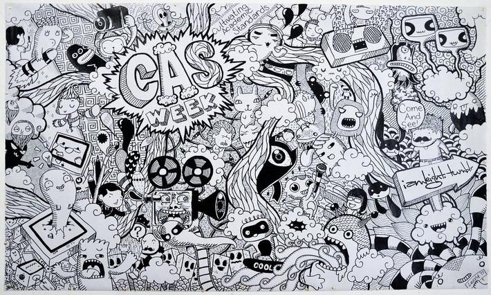 creative doodle art inspirations 6 Creative Doodle Art Inspirations by Lei Melandres