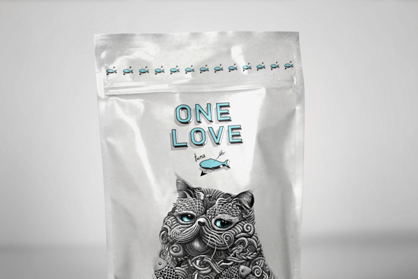 creative packaging design illustrations 4 Creative Cat Food Packaging Illustrations