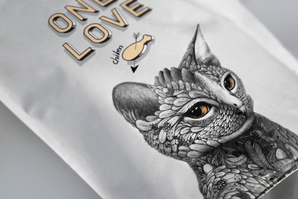 creative packaging design illustrations 7 Creative Cat Food Packaging Illustrations