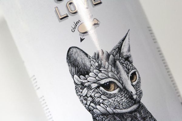 creative packaging design illustrations 8 Creative Cat Food Packaging Illustrations