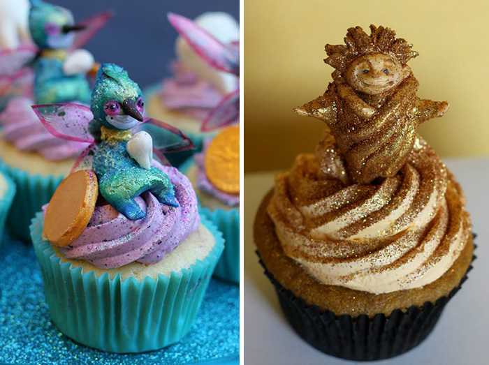 cupcake decorations character 13 Cupcake Decorations of DreamWorks Characters