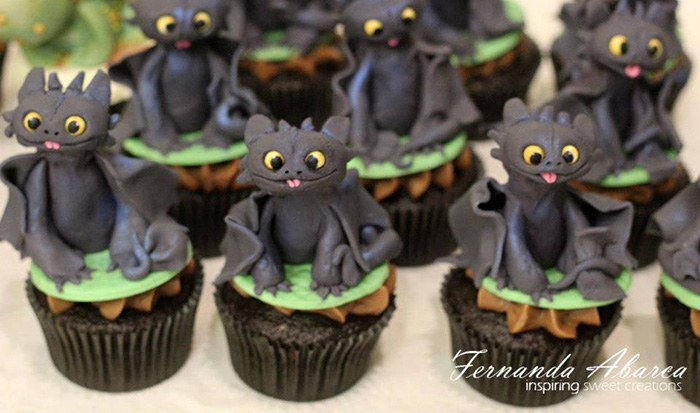 cupcake decorations character 5 Cupcake Decorations of DreamWorks Characters