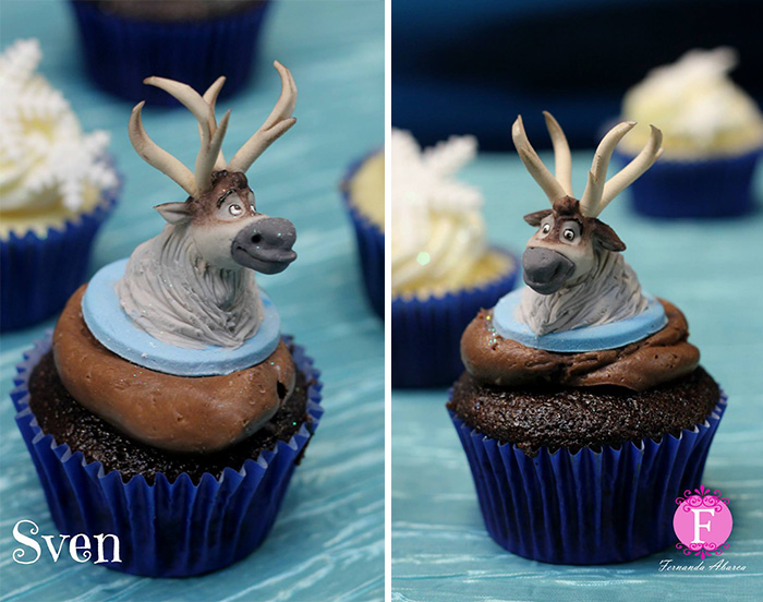 cupcake decorations character 6 Cupcake Decorations of DreamWorks Characters