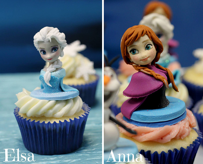 cupcake decorations character 9 Cupcake Decorations of DreamWorks Characters
