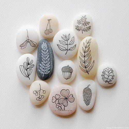 stone art painting 2 How to create stone art painting