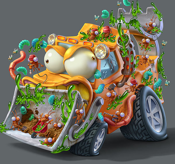 trash wheels series 3 design 16 Trash Wheels Series 3 Final Render