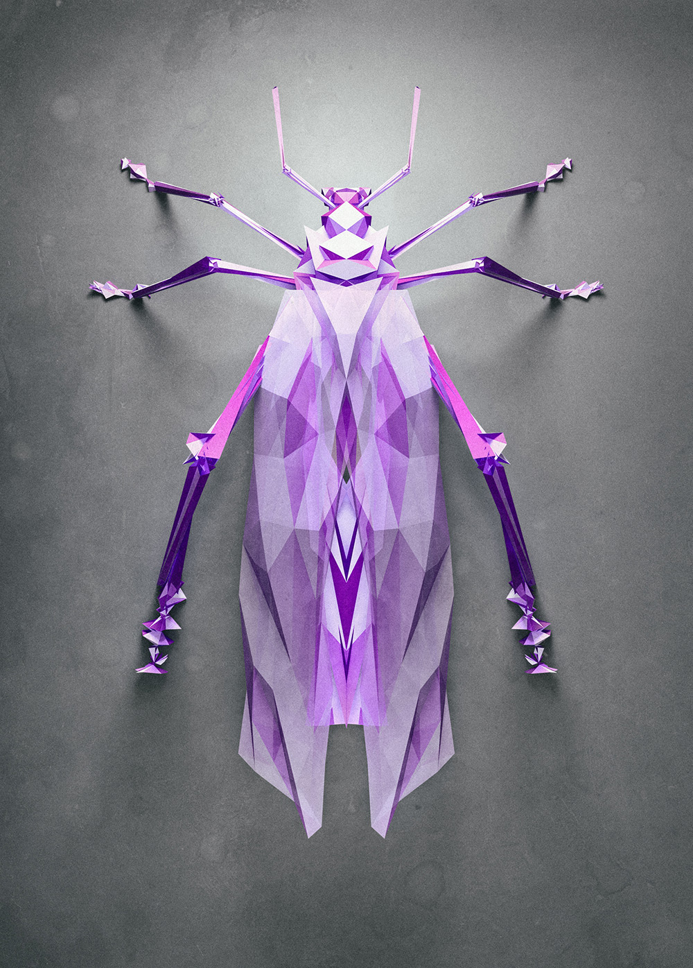 3d insects 1 Generative Polygonal Insects With Cinema 4D