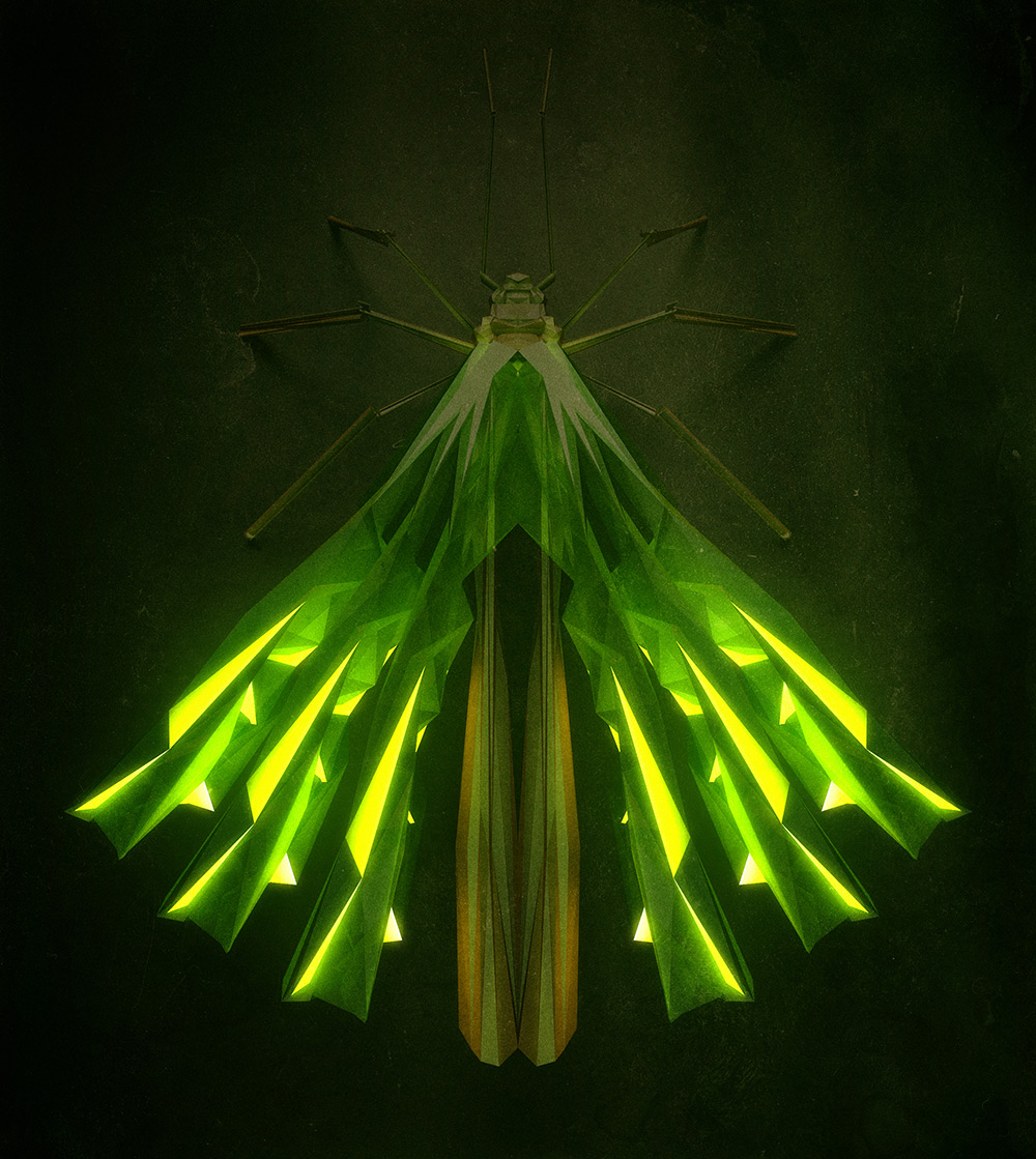3d insects 2 Generative Polygonal Insects With Cinema 4D