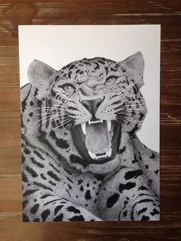 Amazing Stippling Art Illustrations