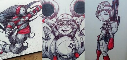 Amazing pencil art sketches 1