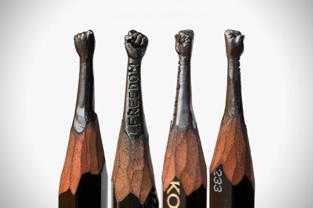 Amazing pencil micro sculptures 3 Amazing Pencil Micro Sculptures by Salavat Fidai
