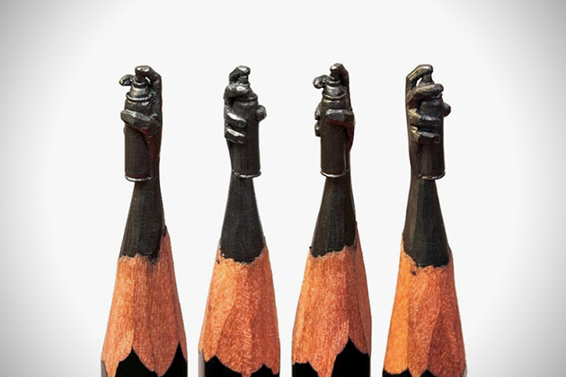 Amazing pencil micro sculptures 4