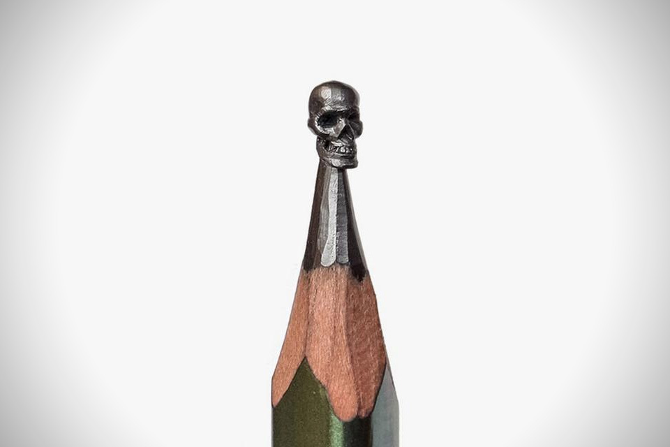 Amazing pencil micro sculptures