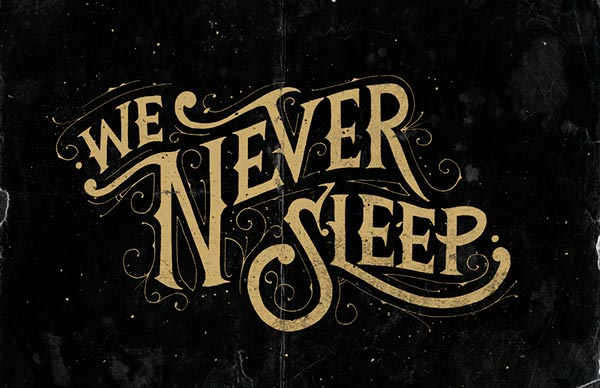 Beautiful Detailed Hand Lettering design