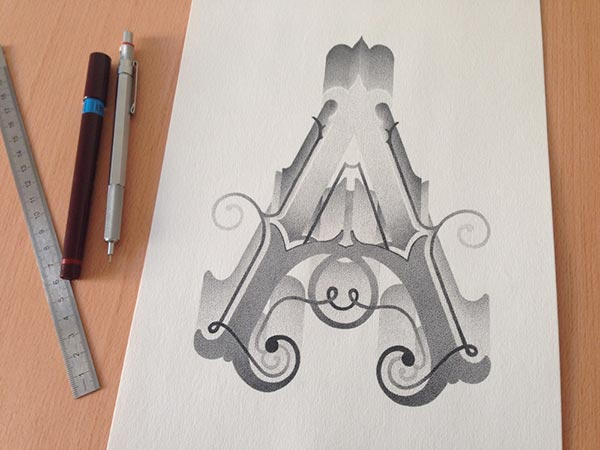 Best Stippling Typography designs
