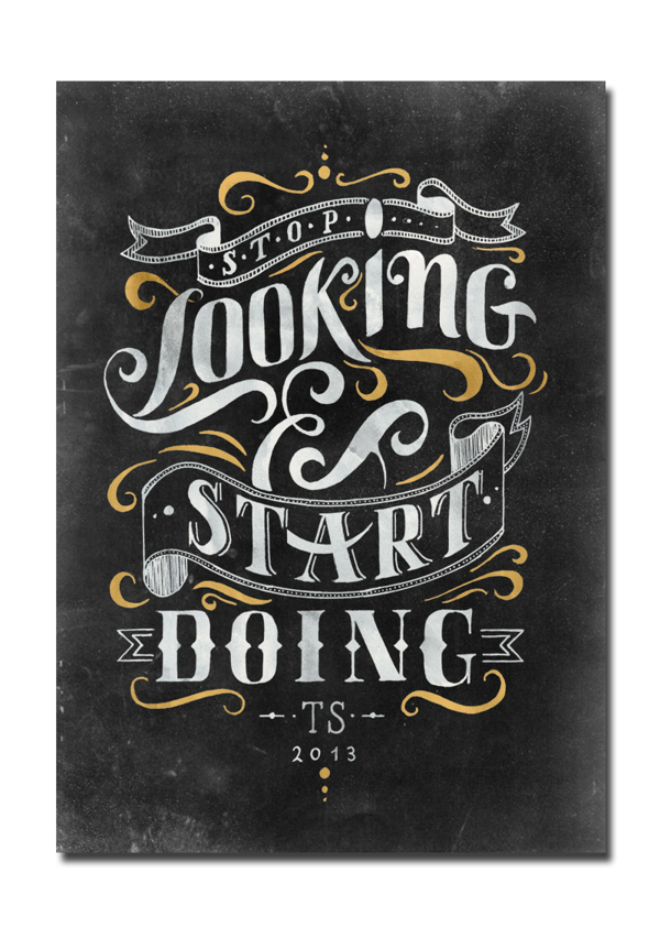 Good lettering drawing and design Creative Lettering And Drawing Design By Tobias Saul