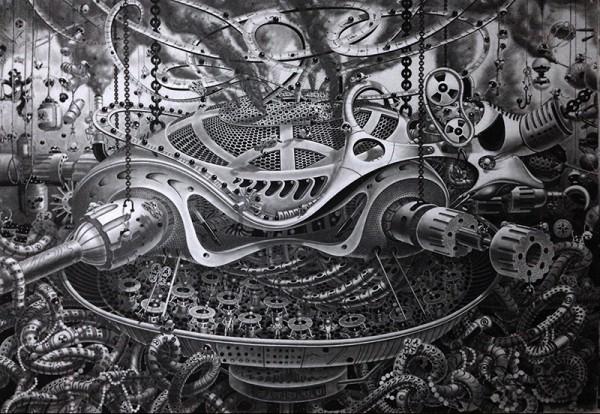 Incredible Surreal Mural Drawings 12