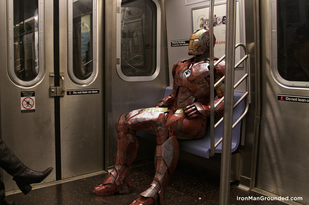 Iron man go to work with train 1024x681 Iron Man Grounded Humanizes   What Happened With Him