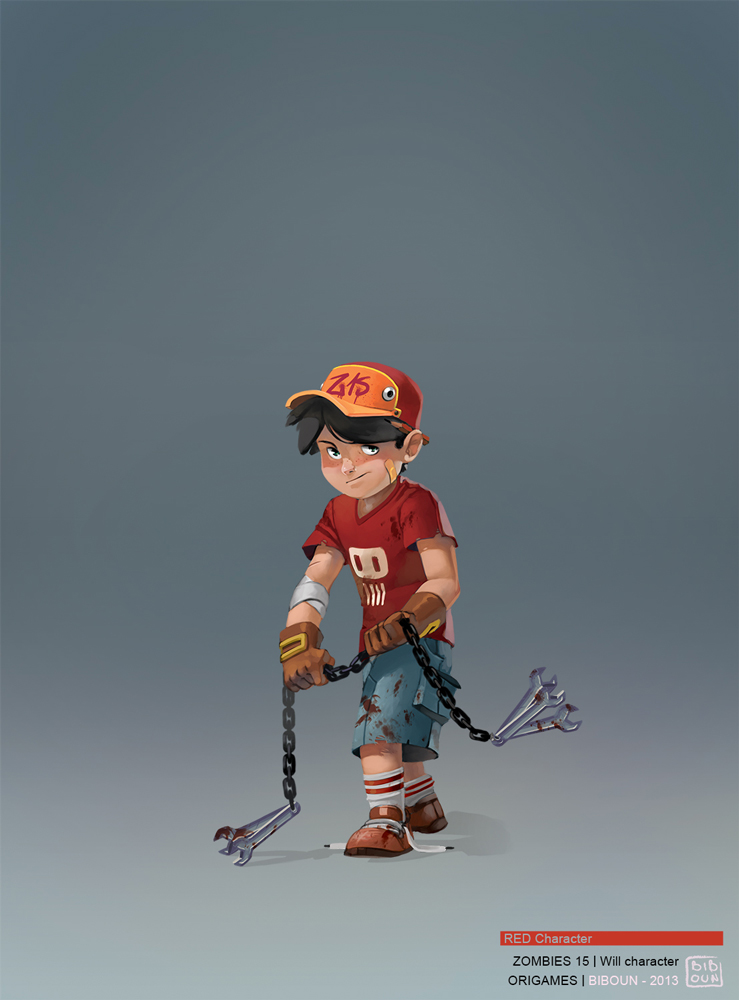 best character design illustration 10 Movie Character Design Illustrations