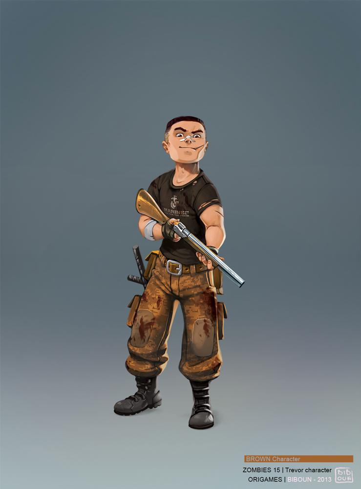 best character design illustration 14 Movie Character Design Illustrations