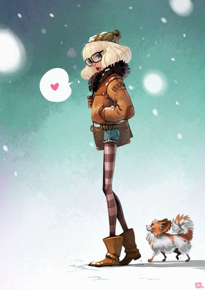 best character design illustration 9 Movie Character Design Illustrations