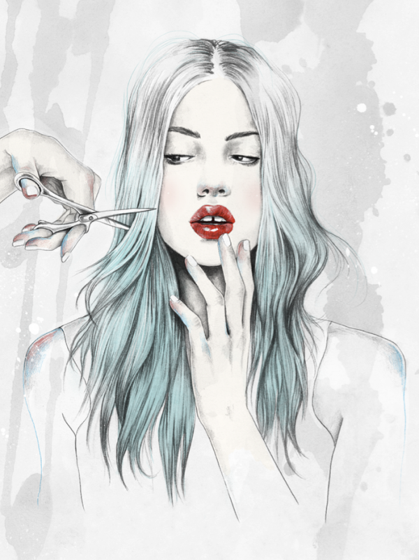 elegant digital art illustrations 4