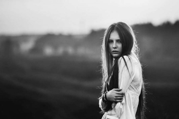 female portraits black and white photography Female Self Portraits Photography By Maxim Gurtovoy