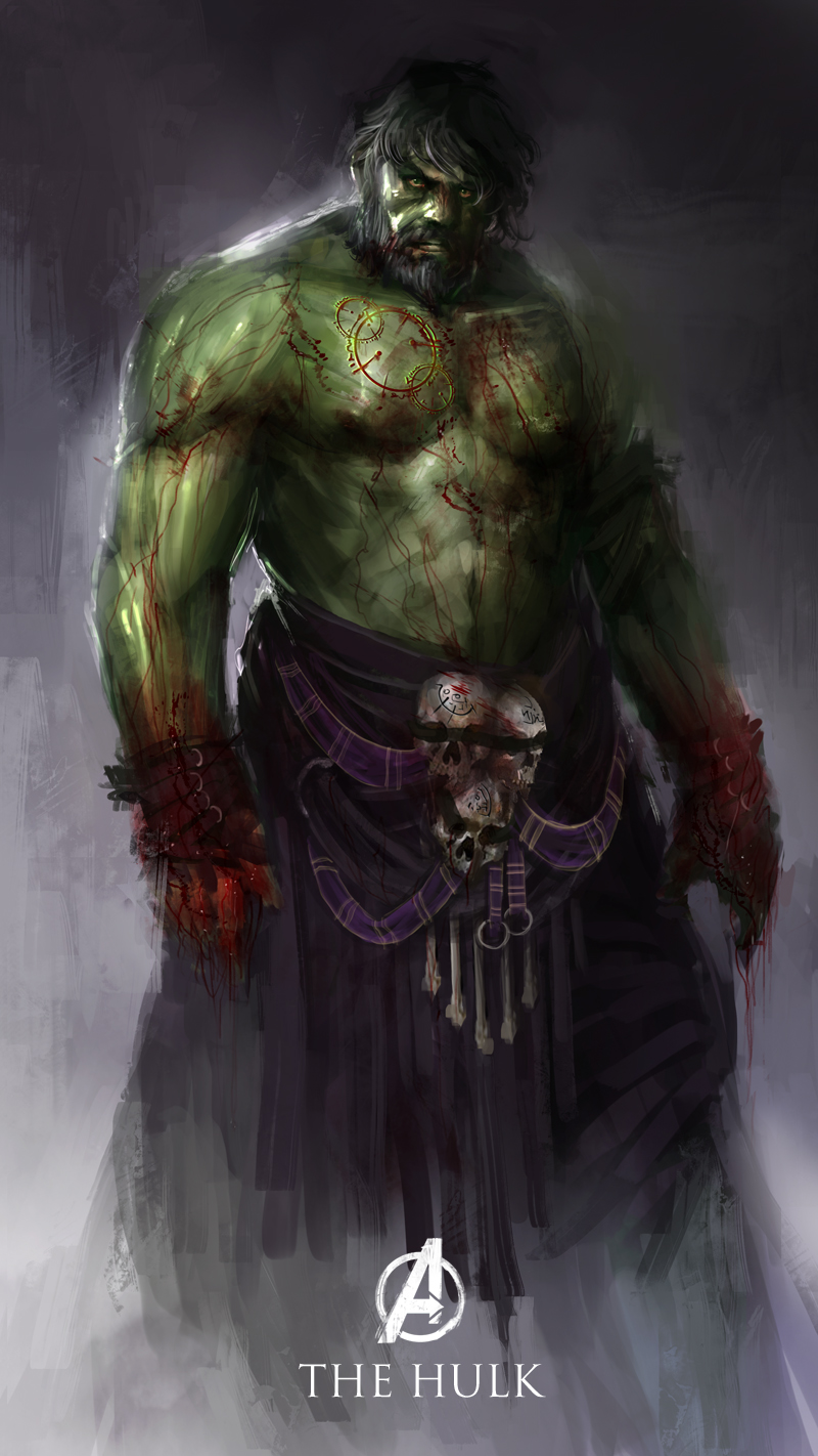 redesign the hulk character Best Redesign Superheroes Characters