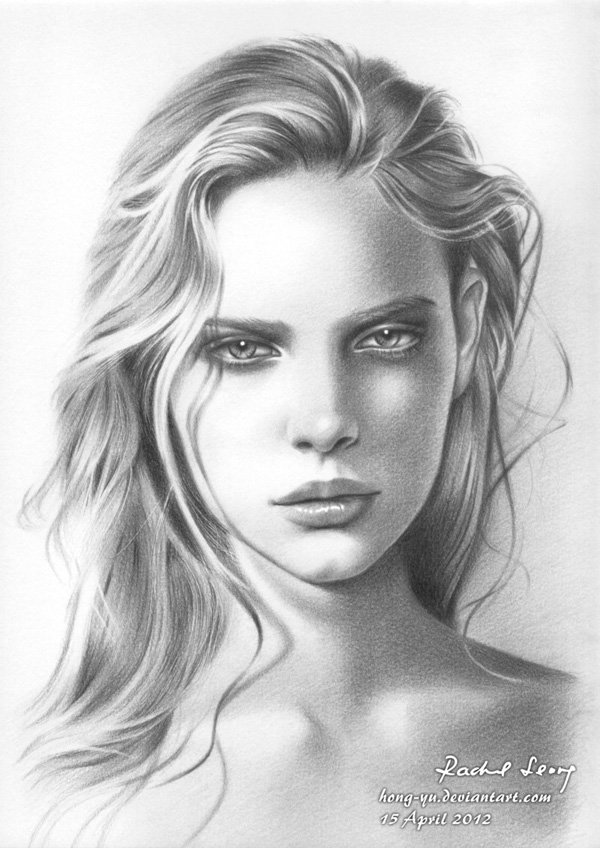 Detailed Realistic Pencil Drawings By Leong Hong Yu ...