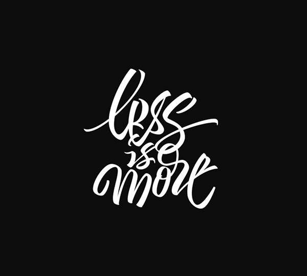 Beauty hand lettering font design Artimasa Studio 01 Simple Hand Lettering Font Design By Artimasa Studio