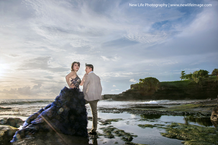 Best Place of Prewedding TanahLot Bali 01 Creative Bali Pre wedding Concept Ideas