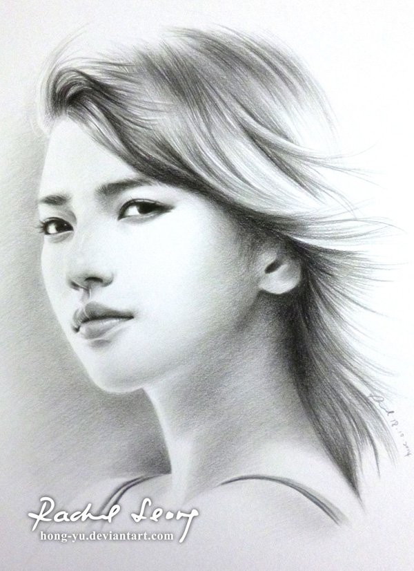 Best realistic pencil drawings- Leong Hong Yu 01