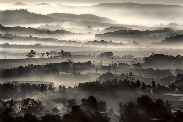 Black and white Landscape Photography by jaewoon u Mind Blowing Colorful Landscape Photography by Jaewoon u