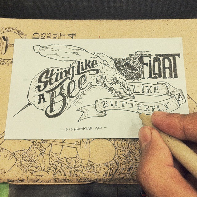 Creative hand lettering art design  - Dimaz Fakhruddin
