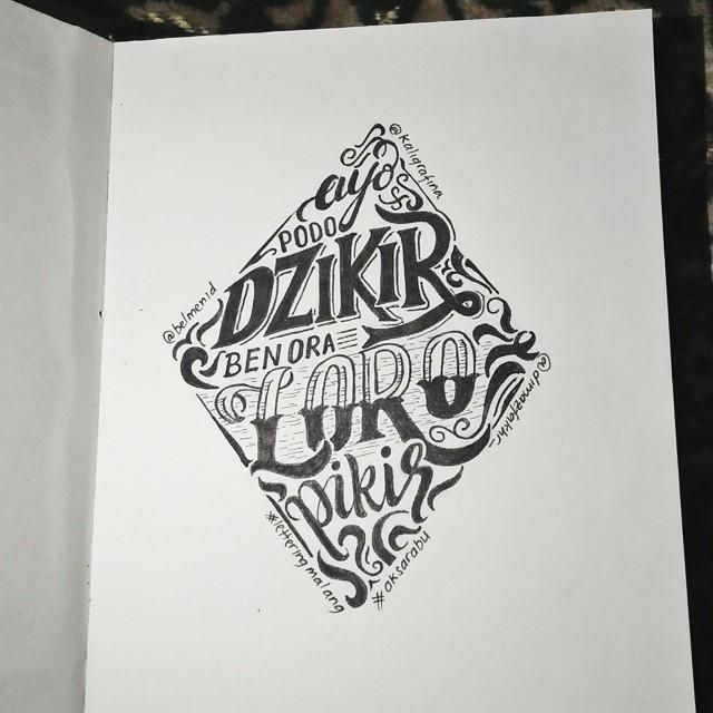 creative hand lettering art style dimaz fakhruddin creative hand lettering art by dimaz fakhruddin